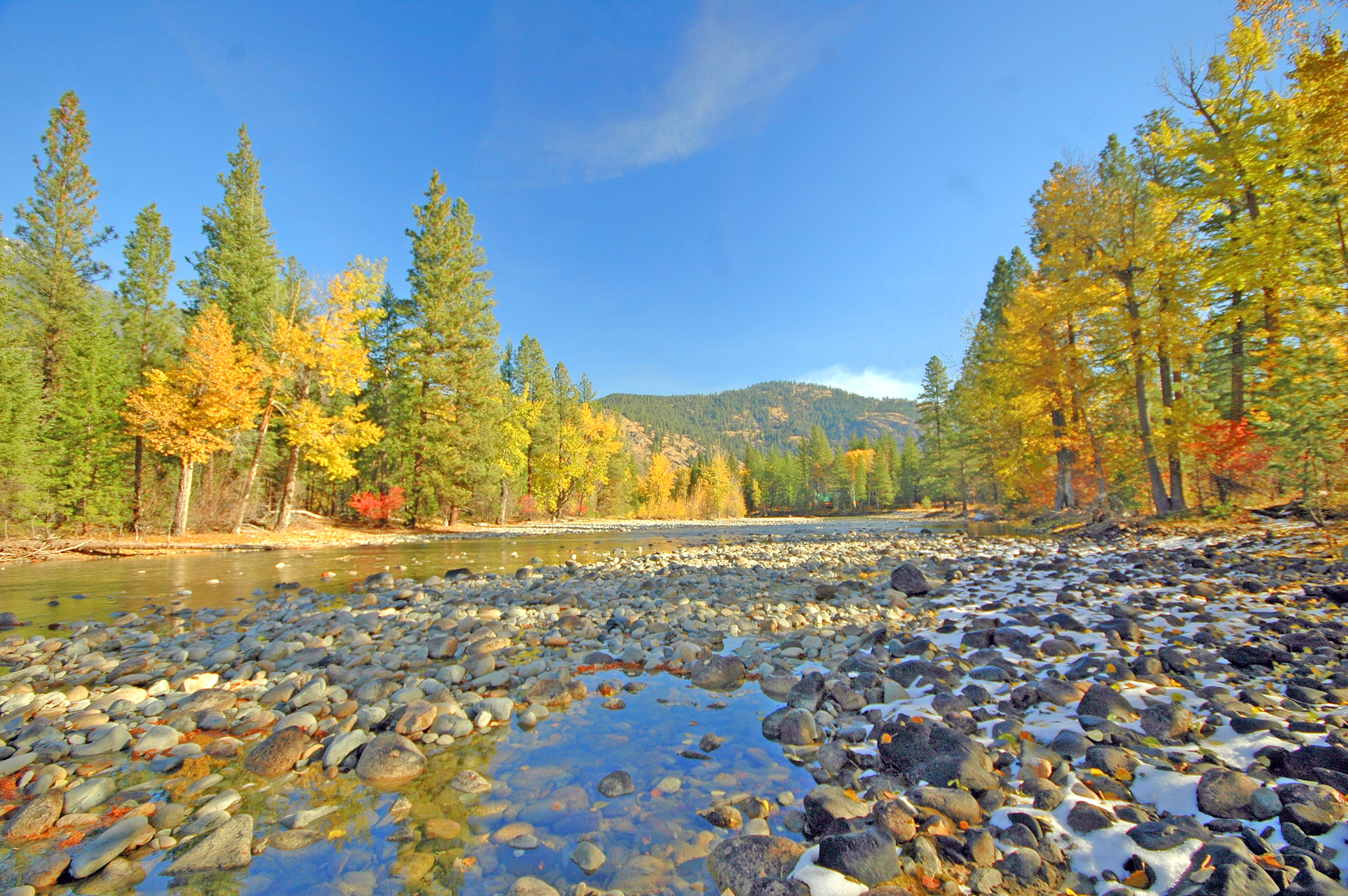 Mazama Riverfront Land For Sale Methow Valley Real Estate