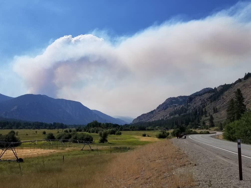 Cedar Creek Fire 2021